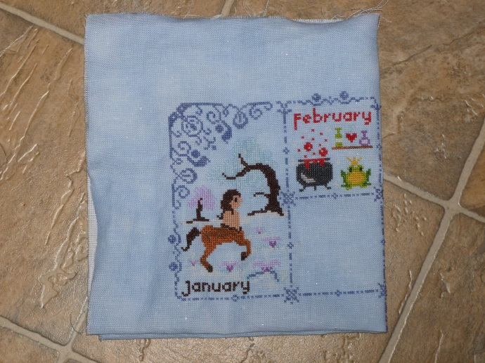 Two for the price of one: Finished January and February